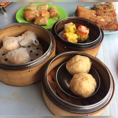 Chinese dimsum for breakfast