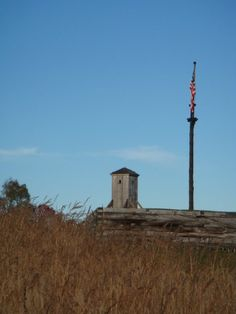 Fort Stanwix.  A Revolutionary War fort rebuilt over the original site.  Located in Rome, New York
