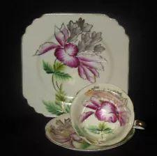 tea cup saucer plate trio | eBay