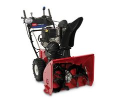 Toro Power Max HD 1128 OHXE with Briggs & Stratton OHV engine provides proven power and performance to make your job easier in tough winter conditions. Electric Snow Blower, Riding Lawn Mowers, Small Farm, Lawn Care, My Best Friend, Inventions, Outdoor Power Equipment, Two By Two