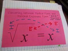 Math = Love: Algebra 2 Interactive Notebook Pages Galore Algebra Activities, Maths Algebra, Teaching Math, Math Teacher, Algebra 2 Help, Teaching Ideas, Love Math, Fun Math, Math 2