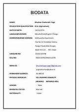 biodata sample for job application Resume Format, Sample Resume, Download Cv Format, Marriage Biodata Format, Bio Data For Marriage, Watch Live Cricket, Marriage Proposals, Image, Free