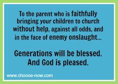 God's Faithfulness to a Mother's Prayers