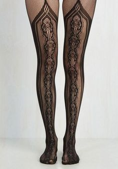***LIMITED*** Luxury Designer Suspender Tattoo Diamond//Thigh Pantyhose Tights