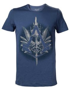 Assassin's Creed Syndicate Crest With Cane T-Shirt - Gamer Loot