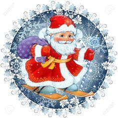 Новости Father Christmas, Christmas Art, Christmas Themes, Vintage Christmas, Christmas Holidays, Christmas Decorations, Xmas, Christmas Ornaments, Christmas Graphics