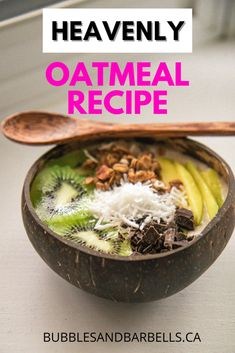 Everyone loves a good oatmeal bowl. This recipe is Bali inspired and is packed with flavour that will blow your mind! #breakfast #bali #baliinspiredfood #easybreakfastideas #snackideas #inspirationbreakfast #healthyeating #nutrition #mealprep #cleaneating #mealplan #healthyliving #macrofriendly #recipes #oatmealrecipes #oatmeal #overnightoats Breakfast Cafe, Best Breakfast, Breakfast Recipes, Fried Chicken Burger, Oatmeal Recipes, Shredded Coconut, Smoothie Bowl, Fitness Nutrition, Bon Appetit