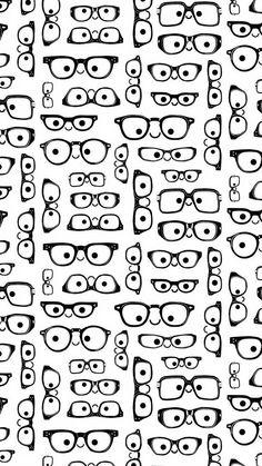 Nerd glasses wallpaper