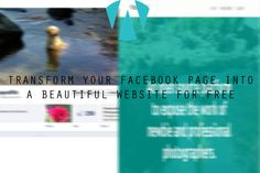 Transform Your Facebook Page Into a Free Website ~ WeboGraffiti