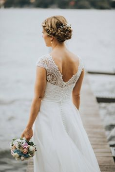 The most beautiful wedding dresses of 2016. More inspiration on our WonderWed.de/blog