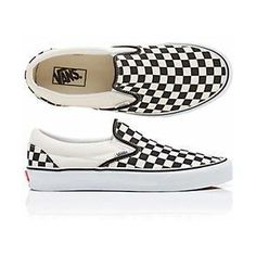 Vans black and white checkered slip on In good condition. Hard to find as  they are sold out in most sizes. The color is like a black and white off  white ... 1021d198d