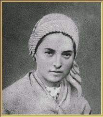 St. Bernadette Soubirous of Lourdes, France.  As a young 14 year old girl, Bernadette Soubirous had 18 visions of the Blessed Lady in a grotto in the outskirts of Lourdes. Although doubted at the time, she was later canonised by the Catholic Church. Lourdes has become one of the most popular locations of religious pilgrimage. From Biography Online http://www.biographyonline.net/spiritual/bernadette-soubirious.html#