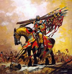 Mathieu de Montmorency, at the Battle of Bouvines July 27, 1214