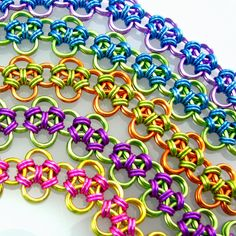 Candace Chainmaille Bracelet Choose your by dancingleafstudios, $35.00