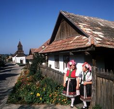 Holloko - a living example of Hungarian rural life before the advent of industry Castle Ruins, Medieval Castle, Doll Museum, Places Worth Visiting, Europe On A Budget, Central And Eastern Europe, Folk Dance, Roman Catholic, World Heritage Sites