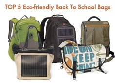 Top 6 Eco-Friendly Bookbags to Carry Back to Class. 288b257c7f790