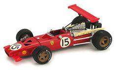 1969 Ferrari 312, Spanish GP, C. Amon
