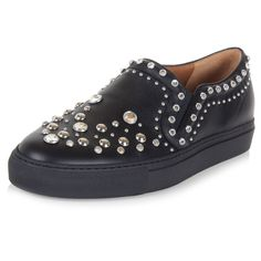 Givenchy Women Studded leather slip on - Spence Outlet