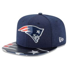 New England Patriots New Era Youth 2017 NFL Draft On Stage Original Fit 9FIFTY Snapback Adjustable Hat - Navy