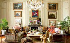 Salones frescos y luminosos para el té o el brunch   Espaciodeco - decoración de interiores