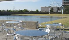 Cafe Modern has some of the best food and the best views on a beautiful day!