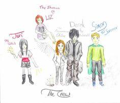 Darkest Powers: The Gang by CrystalSouza.deviantart.com on @DeviantArt