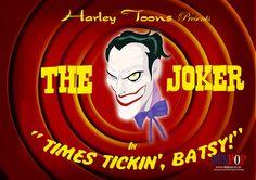 """Times tickin', Batsy!"" by Des Taylor"