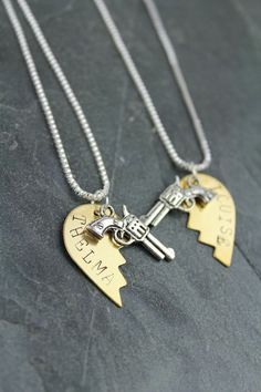 Thelma and Louise Friendship Necklaces @christina486 we need these!!!