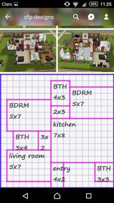 Sims 2 House, Sims 4 House Plans, Sims 4 House Building, Sims 4 House Design, Casas The Sims Freeplay, Sims Freeplay Houses, Sims 4 Houses Layout, House Layouts, Sims 4 Cheats