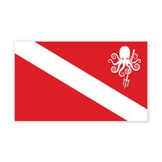 SPD Dive Flag Sticker