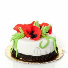 Ciocolata si maci din martipan Maci, Sweets Cake, Love Cake, Desserts, Food, Tailgate Desserts, Postres, Deserts, Essen