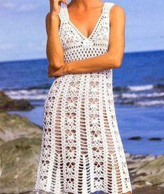 Favorite patterns – crochet dress 1037c
