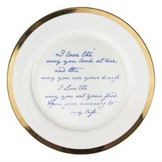 Poetry Plates by Mineheart