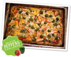 Artisan Pizza Showdown: Angie's Pepper Pizza