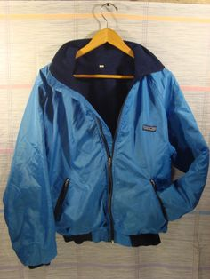 Patagonia Nylon Jacket with Fleece Lining 90s by FleecenStuff