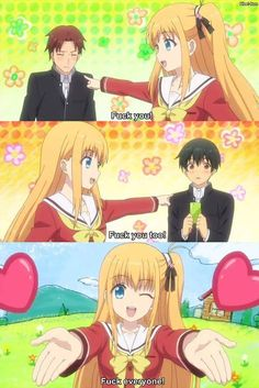 hahahaha Yusa's spell - Charlotte - Anime - 2015 - Yusa - Yusa-rin - Otaku - weeaboo - funny - lol - humour - fuck - otaku - anime