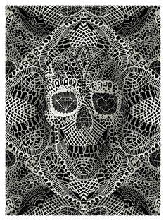 Lace Skull - Ali Gulec