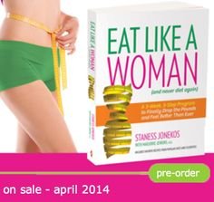You can pre-order the book today - yay! Visit: www.EatLikeAWoman.com Support women's health.
