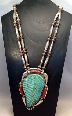 Extraordinary Antique Navajo Necklace Huge by LotusLakeBuddhist
