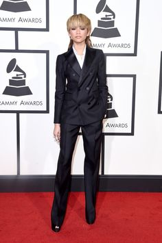 Zendaya at Grammy Awards 2016: Best Dressed on the Red Carpet - -Wmag