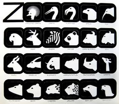 Lance Wyman is also a master of iconography that is easy to read and very accessible. Below is some of his work for the National Zoo and th. Icon Design, Design Art, Logo Design, Lance Wyman, Mexico 68, Zoo Logo, Zentangle, Zoo Project, Minnesota