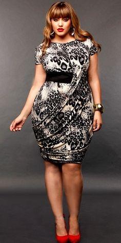 Love this plus size dress by Monif C! #UNIQUE_WOMENS_FASHION http://stores.ebay.com/VibeUrbanClothing