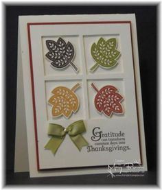 Day of Gratitude CAS83 by stampercamper - Cards and Paper Crafts at Splitcoaststampers