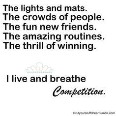competitive cheerleading <3