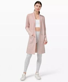 athletic apparel + technical clothing | lululemon Workout Attire, Knit Wrap, Personal Shopping, Wrap Sweater, Plus Size Tops, Sweaters For Women, Women's Sweaters, Latest Fashion Trends, Plus Size Outfits