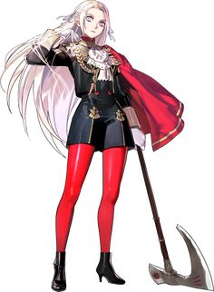 View an image titled 'Edelgard Character Art' in our Fire Emblem: Three Houses art gallery featuring official character designs, concept art, and promo pictures. Fire Emblem Characters, Fantasy Characters, Female Characters, Story Characters, Female Character Design, Game Character, Character Concept, Character Creation, Concept Art