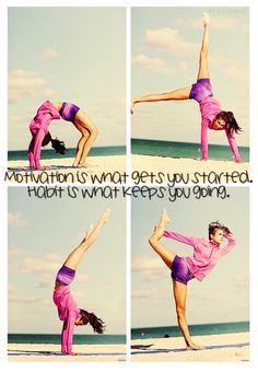 self motivation leads to good habits :) Fitness Quotes, Fitness Tips, Health Fitness, Push Fitness, Fitness Fun, Fitness Goals, Namaste, Believe, Yoga Pilates