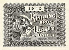 Ringling Brothers and Barnum and Bailey | Sheaff : ephemera
