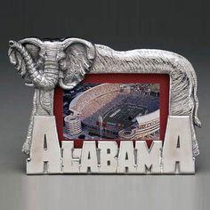 Alabama Crimson Tide Arthur Court Aluminum Picture Frame #rolltide