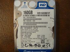 WESTERN DIGITAL WD1600BEVT-22ZCT0 DCM:DBCT2ABB SATA 160GB - Effective Electronics